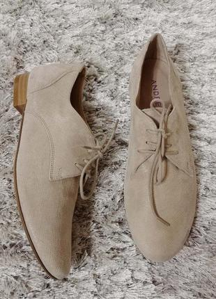 Туфлі-мокасини andre  р.37.