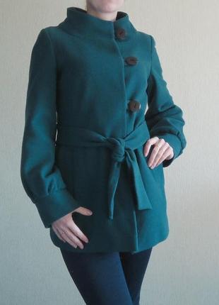 Фирменное пальто topshop, р.42-44, код p42011 фото