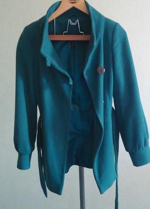 Фирменное пальто topshop, р.42-44, код p42015 фото