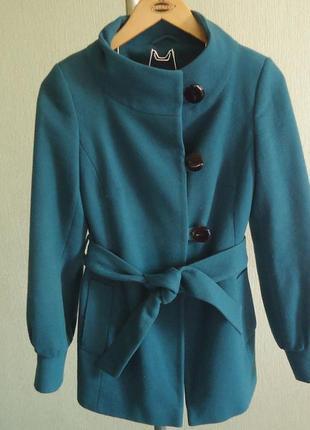 Фирменное пальто topshop, р.42-44, код p42014 фото