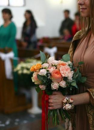 Платье трасформер для подружки невесты