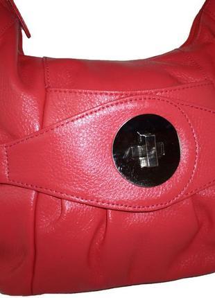 Стильная вместительная сумка натуральная кожа victoria jayne