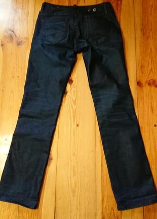 Брендові фірмові джинси g-star raw, оригінал, розмір 26/30.