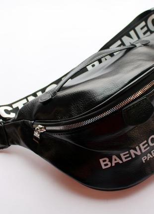 Барсетка, бананка, сумка на пояс, сумка, женская сумка, эко кожа, молодежная сумка