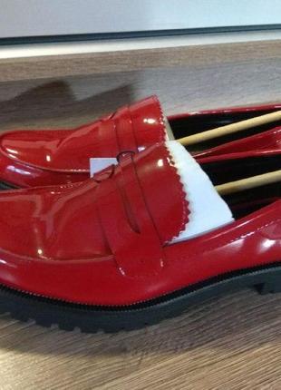 Мокасины туфли bershka