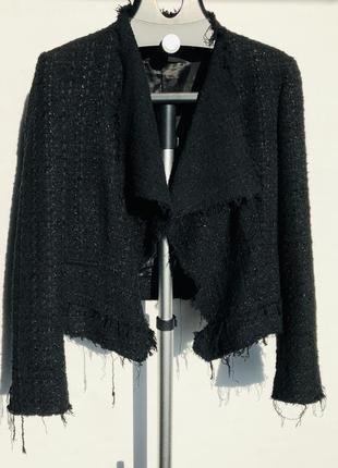 Пиджак в стиле chanel zara