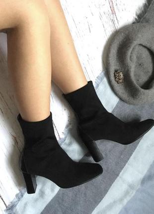 Актуальные ботинки чулки2 фото