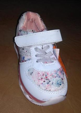 Кроссовки 27-30 р. y-top на девочку, кросовки, белые, уай топ, осенние, весенние