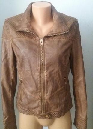 Куртка,косуха от bershka collection  (l/30 mex).100%кожа!!