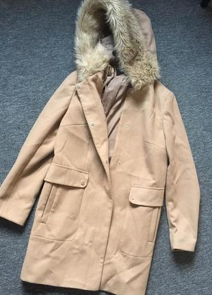 Стильное пальто ,от бренда dorothy perkins