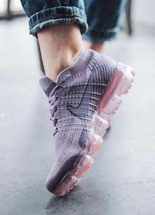 Шикарные женские кроссовки nike vapormax violet 😍 (весна/ лето/ осень)