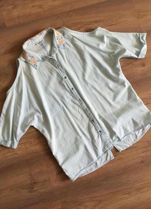 Сорочка з відкритими плечиками