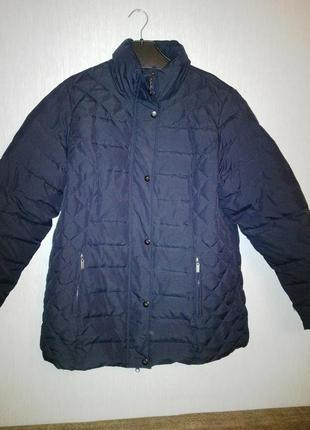 Демисезонная стеганная женская куртка
