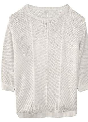 L(44-46 евр.) женский ажурный пуловер от esmara