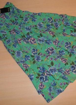 Яркий летний сарафан, платье next, 10 лет, 140 см, оригинал