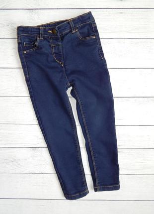Классические  джинсы от tu, для девочки 3-4 года. 98-104 рост.