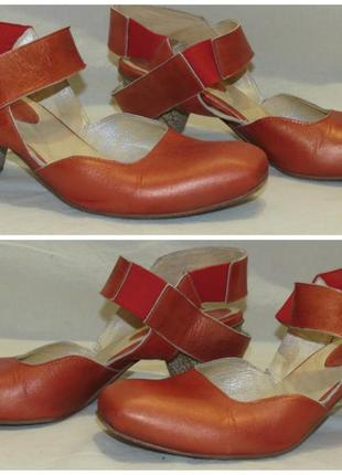 Туфли босоножки lisa tucci размер 37,5 кожа
