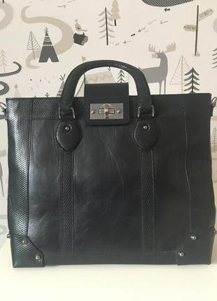 Кожаная сумка fellini