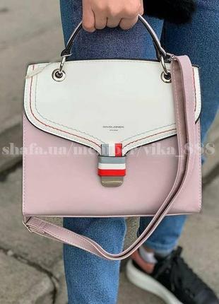 Женская сумка, клатч david jones 5168 светло-сиреневый