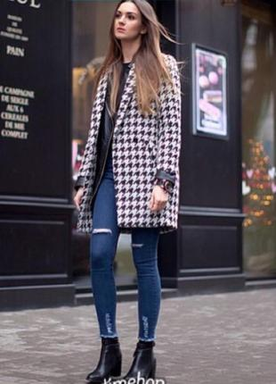 Женские джинсы skinny  скини  обрезанный низ