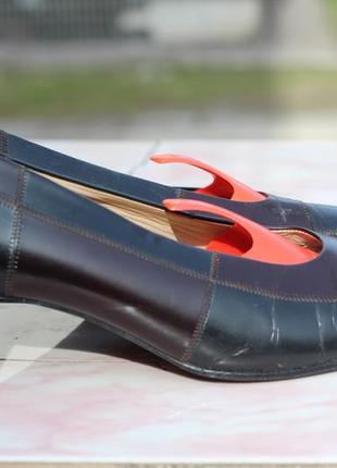 Кожаные туфли gabor 39-40 австрия