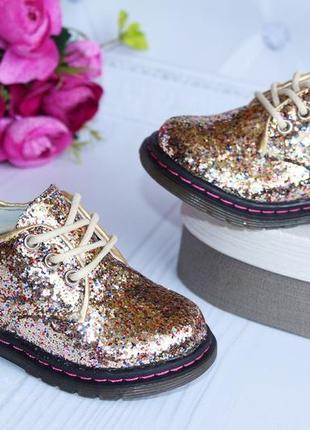 Туфли на девочку с блестками,очень красивые и нарядные!2