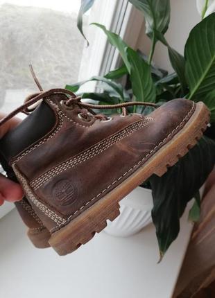 Брендовые ботинки 100% кожа timberlend оригинал