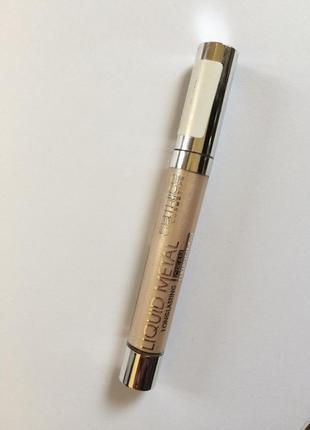 Жидкие тени catrice liquid metal long lasting cream eyeshadow 010