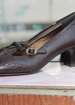 Кожаные туфли gerwinia 35-36