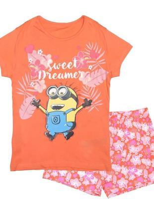 """Новая пижама """"sweet dreamer"""" для девочки, kiabi, vj572"""