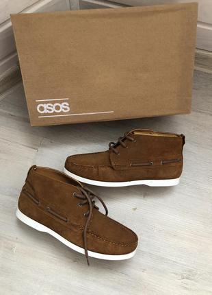 Новые туфли топсайдеры asos
