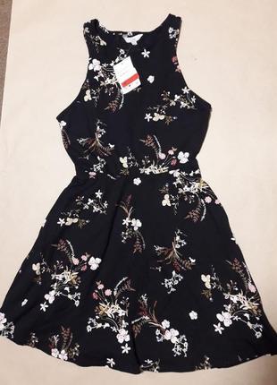 Очень красивое летнее платье, размер l, но будет на м, фирма c&a