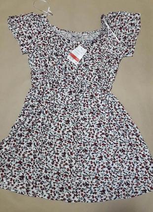 Легкое летнее платье, размер l, фирма c&a, новое