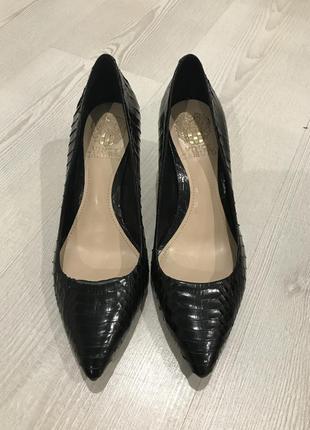 Стильные кожаные итальянские туфельки