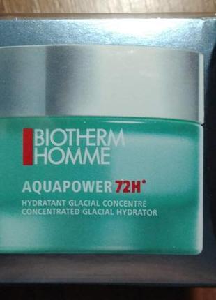 Biotherm homme aquapower зволожуючий крем-гель 72 год.