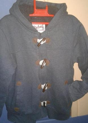Толстовка-куртка rebel на 11-12 лет 152 см.