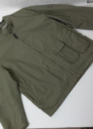 Timberland. куртка на хлопковой подкладке. рукав 3/4, l размер.