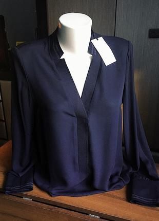 Стильная черная блуза /рубашка с манжетами от kocca
