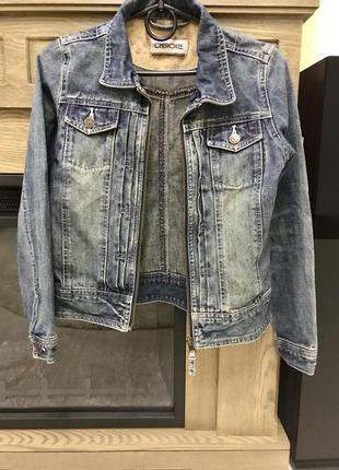 Куртка джинсовая очень стильная и модная