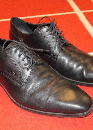Мегаклассные туфли кожа