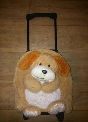 Рюкзак-чемодан на колесиках