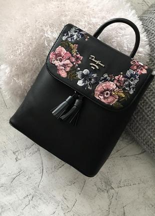 David jones 7 цветов рюкзак рюкзачок с вышивкой