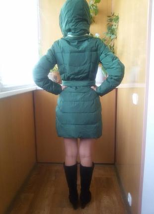 Супер классное пуховое пальто