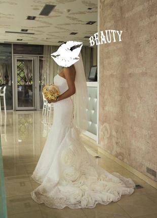 Очаровательное платье для самой красивой невесты