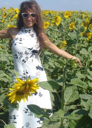 Атласное платье стреч