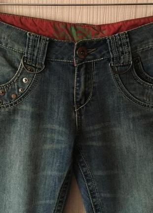 Распродажа! - джинсовые бриджи бойфренды *boyfriend jean* 12 р.2 фото
