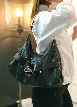 Patrick cox 100% оригинальная дизайнерская кожаная сумка.
