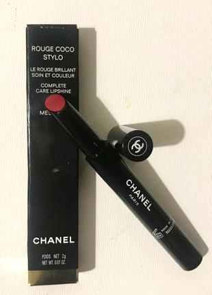 Помада-блеск chanel rouge coco stylo complette care lipshine 214