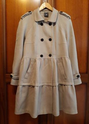 Heartmade julie fagerholt люкс дизайнерское#эксклюзивное#шерстяное пальто#тренч, шерсть.