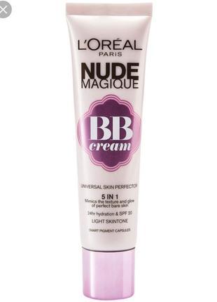 L'oreal paris glam nude bb cream 5 in 1 spf 20